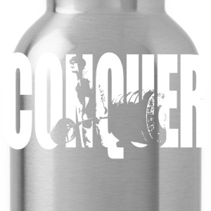 CONQUER - Franco Deadlift T-Shirts - Water Bottle