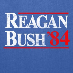Reagan - Bush '84  - Tote Bag