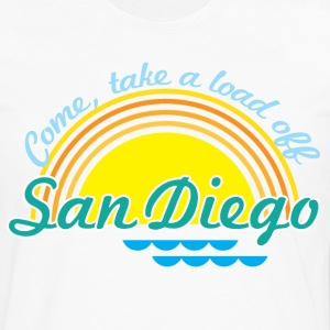 Come, take a load off - San Diego Women's T-Shirts - Men's Premium Long Sleeve T-Shirt