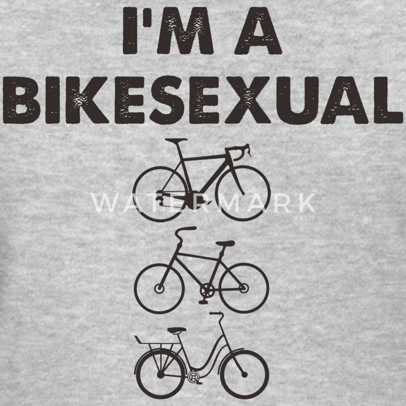 BIKESEXUAL WOMEN TSHIRT - Women's T-Shirt