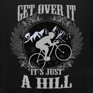 Mountain biking T-shirt - Get over the hill - Men's Premium Tank