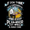 Plumber T-shirt - Try hiring bad plumber - Men's Premium T-Shirt