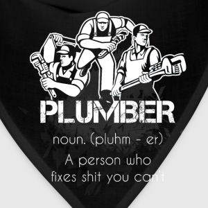 Plumber T-shirt - Plumber definition - Bandana