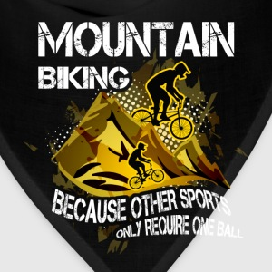 Mountain biking T-shirt - Mountain biking - Bandana