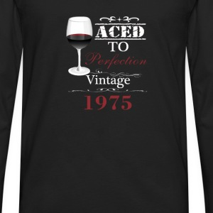 Aged To Perfection 1975 - Men's Premium Long Sleeve T-Shirt
