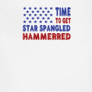 Time to Get Star Spangled Hammerred - Adjustable Apron