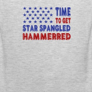 Time to Get Star Spangled Hammerred - Men's Premium Tank