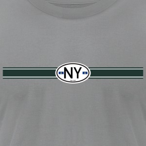 New York Racing Stripe Je  - Men's T-Shirt by American Apparel