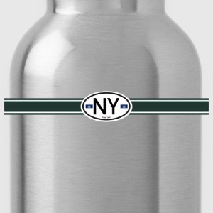New York Racing Stripe Je  - Water Bottle