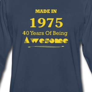 Made in 1965 - 50 Years of Being Awesome - Men's Premium Long Sleeve T-Shirt