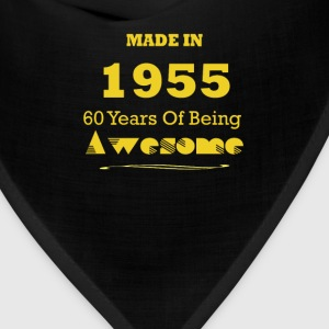 Made in 1955 - 60 Years of Being Awesome - Bandana