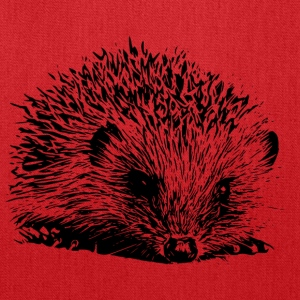 Hedgehog Ladies' Tee - Tote Bag