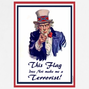 This FLAG...does NOT make me a Terrorist! Accessories - Adjustable Apron