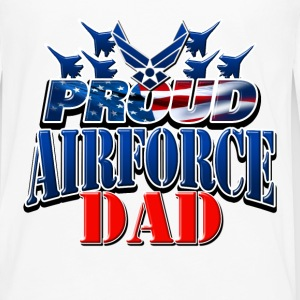 Proud Airforce Dad Baby & Toddler Shirts - Men's Premium Long Sleeve T-Shirt