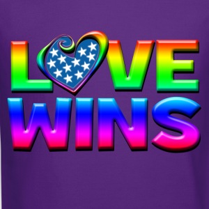 Love Wins Gay Marriage Equality Kids' Shirts - Crewneck Sweatshirt