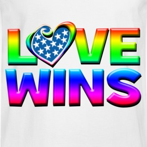 Love Wins Gay Marriage Equality Women's T-Shirts - Men's Long Sleeve T-Shirt