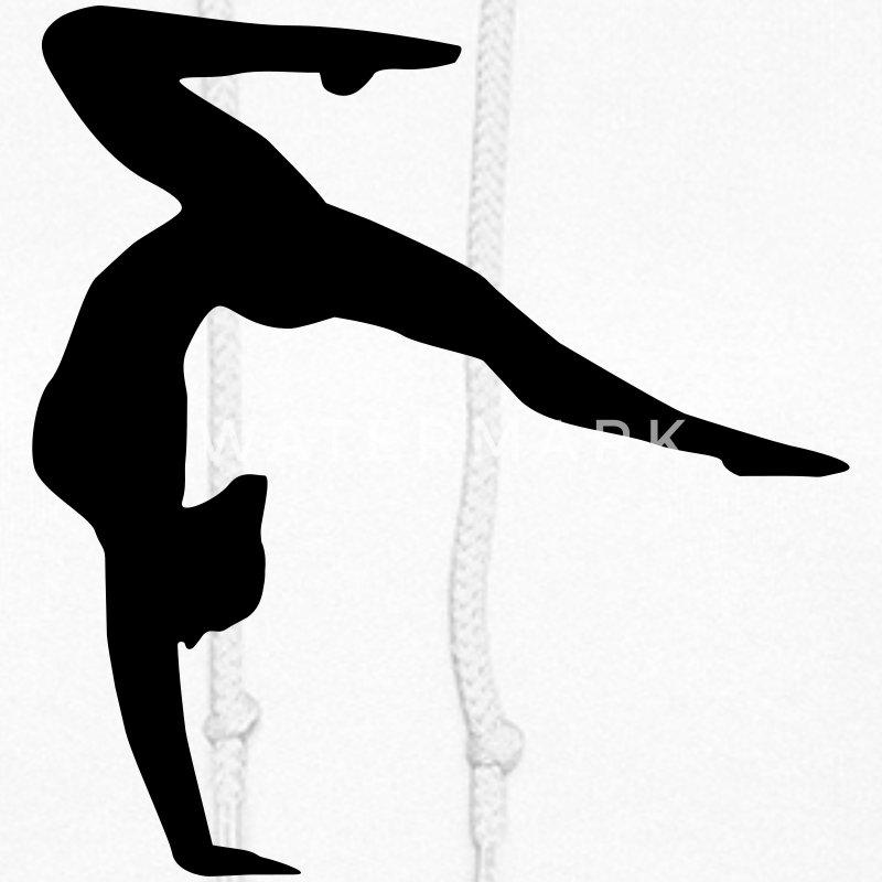 Handstand Shirt Designs : Gymnast gymnastics handstand hoodie spreadshirt