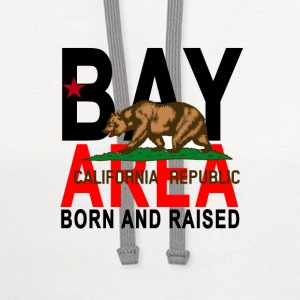 bay_area_california_born_and_raised - Contrast Hoodie