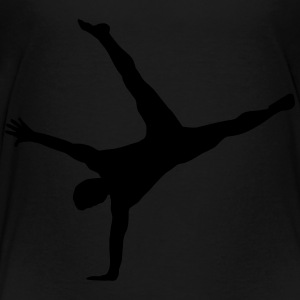 Gymnast, Gymnastics - Breakdance Kids' Shirts - Toddler Premium T-Shirt