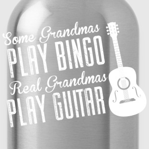 Some Grandmas Play Bingo Real Grandmas Play Guitar - Water Bottle