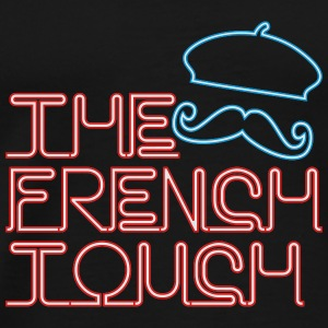 The French Touch Neon Tanks - Men's Premium T-Shirt