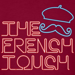 The French Touch Neon Hoodies - Men's T-Shirt