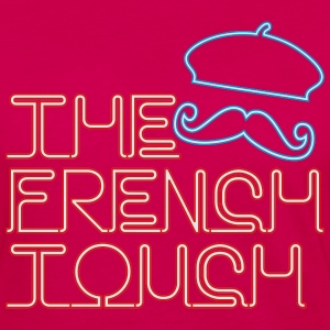 The French Touch Neon Hoodies - Women's Premium Long Sleeve T-Shirt