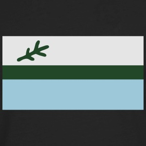 Flag of Labrador, Canada T-Shirts - Men's Premium Long Sleeve T-Shirt