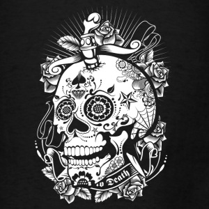 Sugar Skull of Death Bags & backpacks - Men's T-Shirt