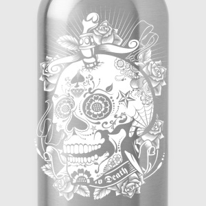 Sugar Skull of Death Tanks - Water Bottle