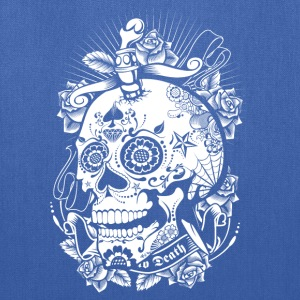 Sugar Skull of Death Women's T-Shirts - Tote Bag