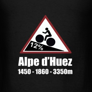 Alpe d'huez Cycling Hoodie - Men's T-Shirt