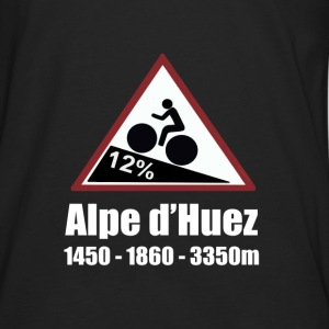 Alpe D'huez Cycling Bag - Men's Premium Long Sleeve T-Shirt