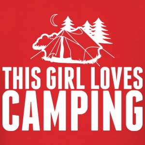 This Girl Loves Camping - Men's T-Shirt