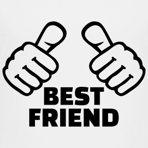 Best Friend Kids' Shirts - Toddler Premium T-Shirt