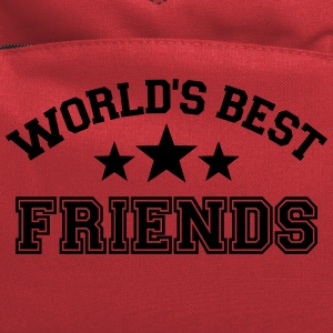 World's best friends Kids' Shirts - Computer Backpack