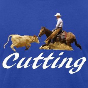 Cutting Horse Hoodies - Men's T-Shirt by American Apparel