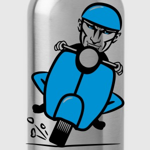 Scooter racing funny T-Shirts - Water Bottle