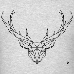 AD Geometric Deer Hoodies - Men's T-Shirt