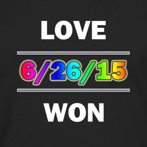 Love Won - Men's Premium Long Sleeve T-Shirt