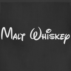 MaltWhiskeyWhite T-Shirts - Adjustable Apron