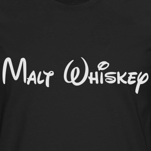 MaltWhiskeyWhite T-Shirts - Men's Premium Long Sleeve T-Shirt