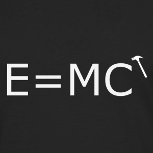 E=MC (hammer) - Men's Premium Long Sleeve T-Shirt