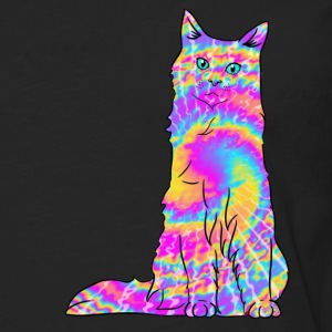 Tie dye Tabby.png Sweatshirts - Men's Premium Long Sleeve T-Shirt