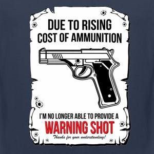 Warning Shoot - Men's Premium Tank