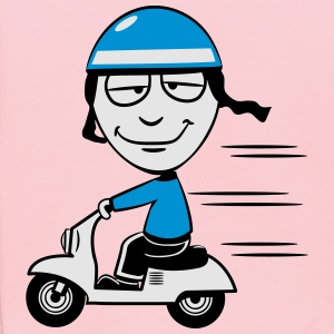 stupid funny Scooter T-Shirts - Kids' Hoodie