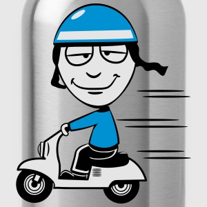 stupid funny Scooter T-Shirts - Water Bottle