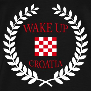 wake up croatia Tanks - Men's Premium T-Shirt