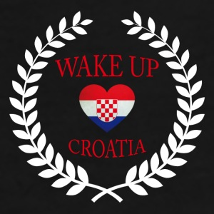 Wake Up Croatia II Mugs & Drinkware - Men's Premium T-Shirt
