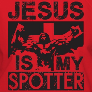 Jesus Is My Spotter T-Shirts - Women's Hoodie